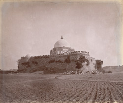General view of Ghiyath-ud-Din Tughluq's Tomb, Delhi. 1003910